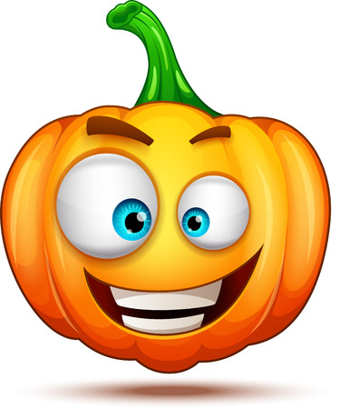 Pumpkin emoticon characters
