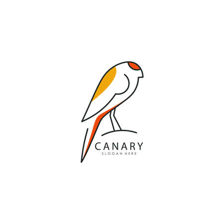 Vector illustration of Bird Logo design
