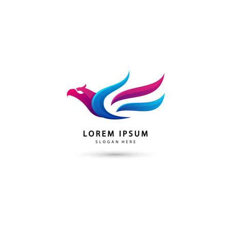 illustration of Eagle logo design