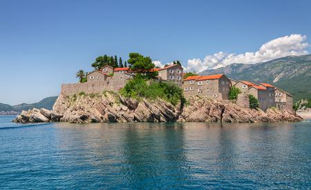 Sveti Stefan island Montenegro  photo