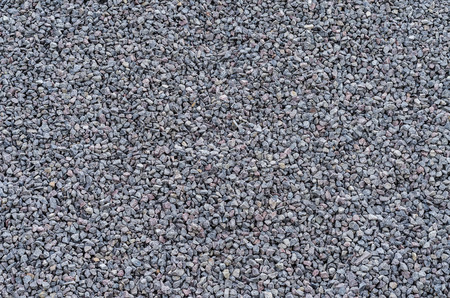 Texture of stone rubble, surface with a large number of stones photo