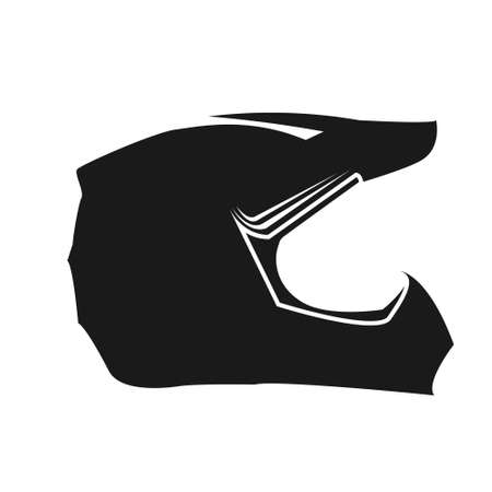 drawing a helmet to protect the head that is often worn by motorcycle riders, reminding to always maintain safety. Çizim
