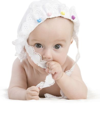 bright portrait of adorable baby  Stock Photo - 6129483