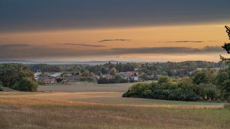 Sunset at Radvanov 版權商用圖片