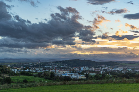 P?sek - nice town of South Bohemia