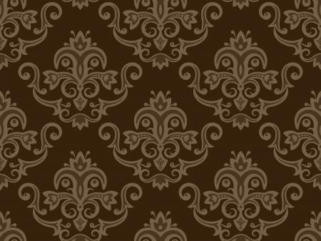Seamless wallpaper  Vintage pattern wallpaper  Seamless texture    Illustration