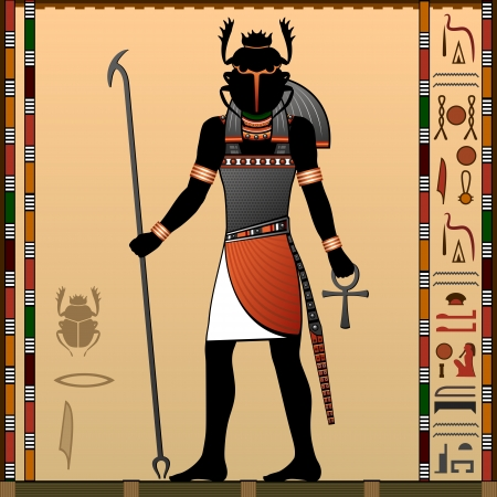 Religion of Ancient Egypt  Khepri is a god in ancient Egyptian religion  Scarab God