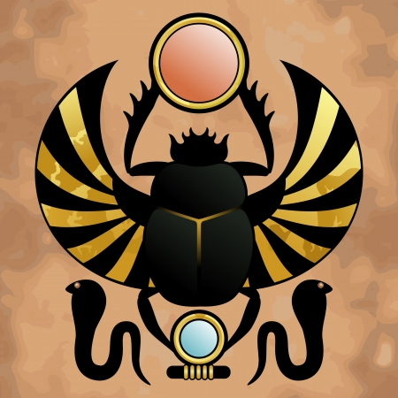 scarab: Religion of Ancient Egypt  Scarab in ancient Egypt  The symbol of the god Khepera