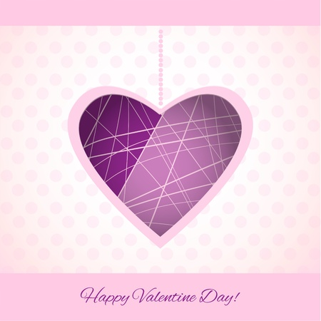 Vector background for Valentine's Day Stock Vector - 18446059