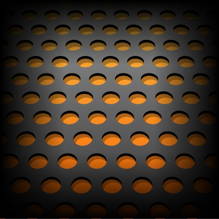 Abstract metallic background. Vector