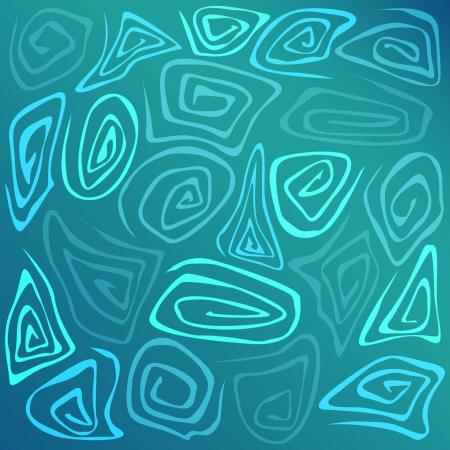 Vector blue background. Stock Vector - 18586487