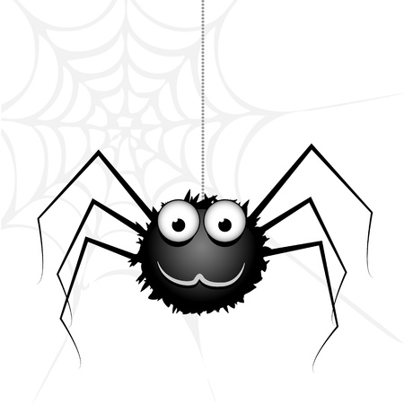cute spider Stock Vector - 18769099