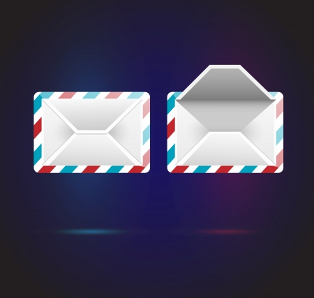 mail icons Stock Vector - 18769957