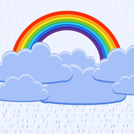 illustration of a rainbow Stock Vector - 18769351