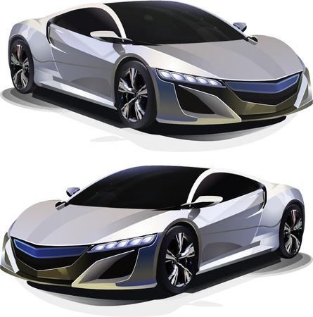 Sport Car. Vector illustration Vector