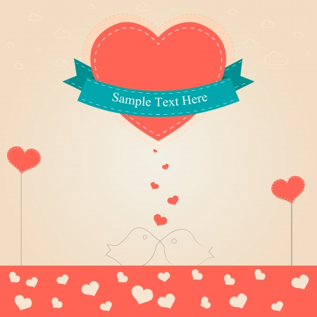 Valentine day vector Stock Vector - 19033924