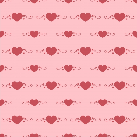 Vector background with hearts. Stock Vector - 19033932