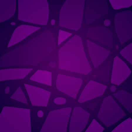 Vector purple mosaic background Stock Vector - 19138693
