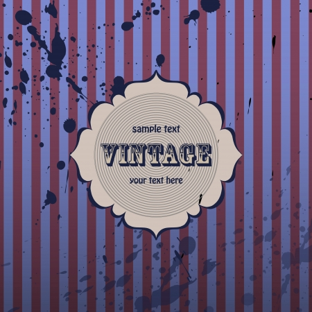 Vector vintage background. Vector