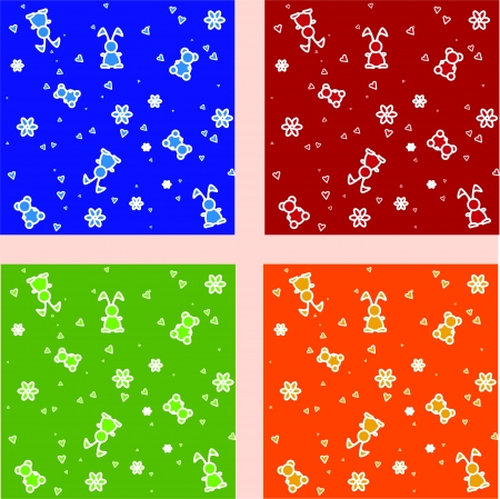 Vector set of backgrounds with toys Vector