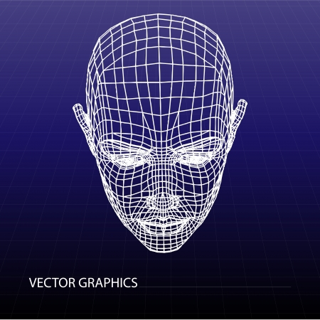 Vector model of face Vector