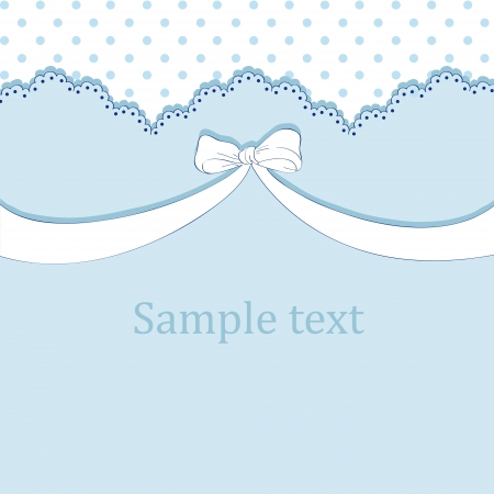Blue childrens background Vector