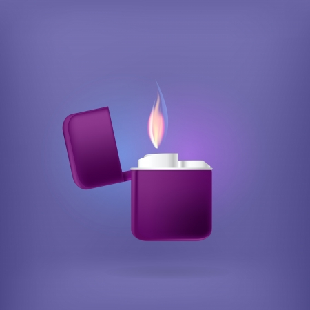 Lighter illustration. Vector