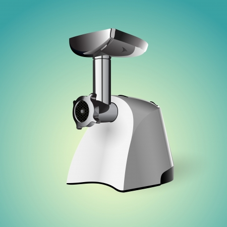 Meat grinder. Vector illustration Vector