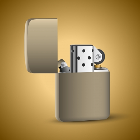 �igarette lighter. Vector Vector