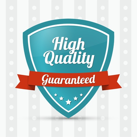 High quality shield - Guaranteed Vector
