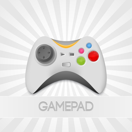 Vector Game Controller Illustration Stock Vector - 19307985
