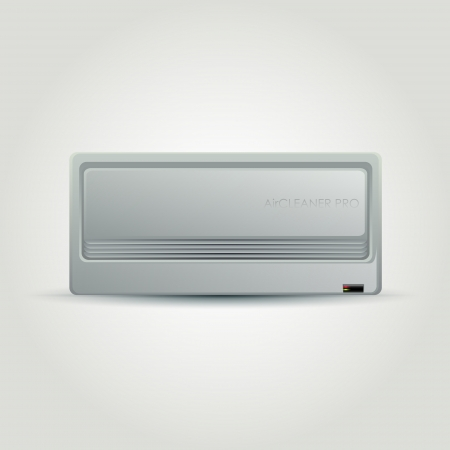 Air conditioner. Vector illustration Vector