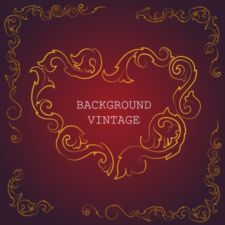 Vector vintage background Stock Vector - 19308000