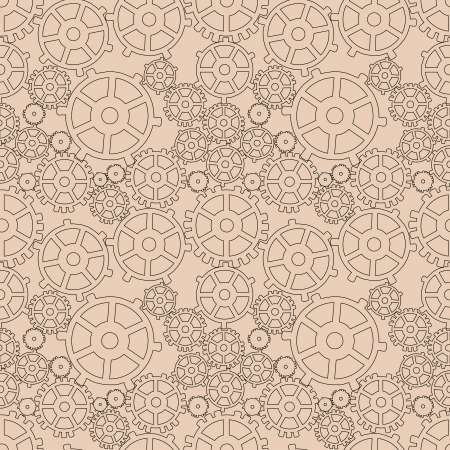 Abstract mechanical background. Vector