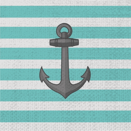 Anchor. Vector icon Vector