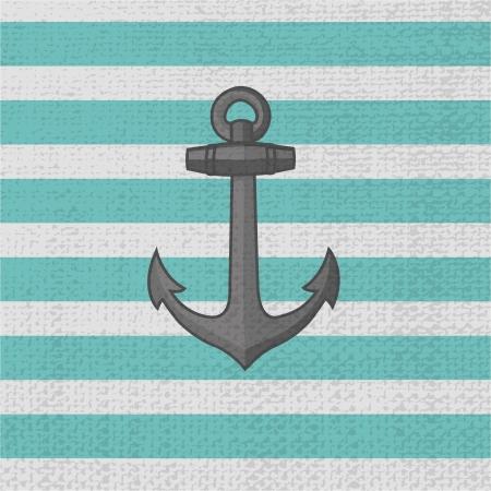 Anchor. Vector icon