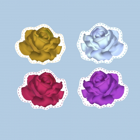 Vector roses Vector
