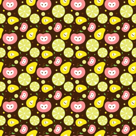 Vector fruit background Vector