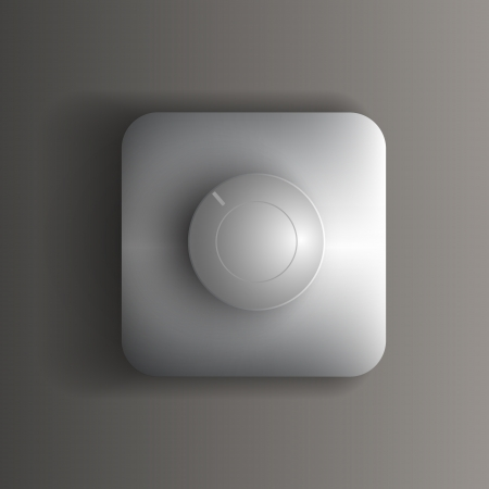 Vector switch button Vector