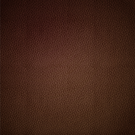 Seamless vector leather texture brown background pattern Vector