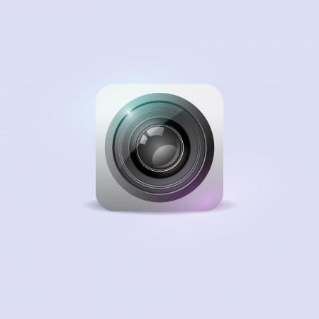 Camera icon. Vector illustration. Vector