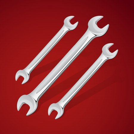hand wrench tools or spanners