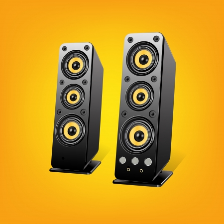 Loudspeakers.Vector Illustration Stock Vector - 19592124
