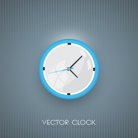 Vector wall clock icon Vector