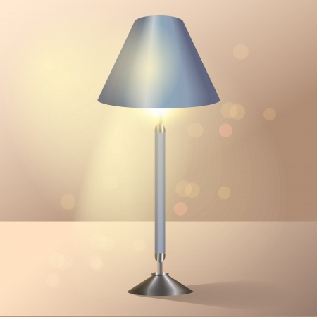 Floor lamp. Vector Stock Vector - 19643254