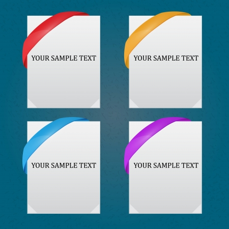 Templates for your design Vector