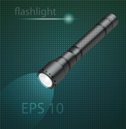 illustration of flashlight Stock Vector - 19773613