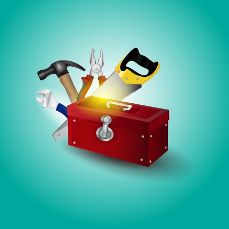 toolbox Stock Vector - 19773941