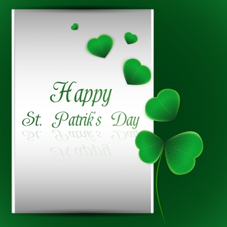 Vector illustration of St.Patricks Day background Vector