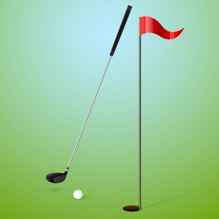 Golf illustration Vector